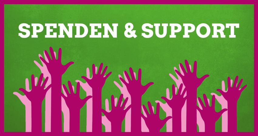 Spenden & Support