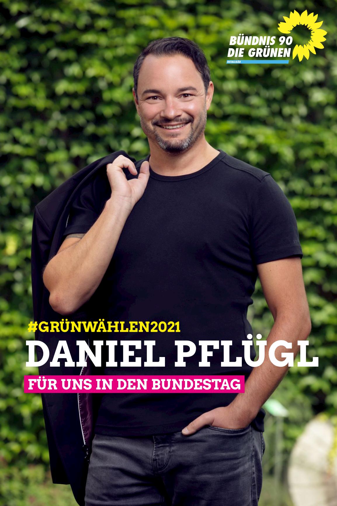 Daniel Pflügl - Für uns in den Bundestag!