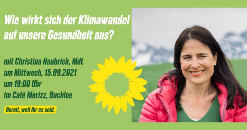 Christina Haubrich - Klimwandel und Gesundheit